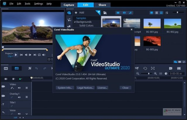 Corel VideoStudio Ultimate 2020 v23.3 Descarga con un clic