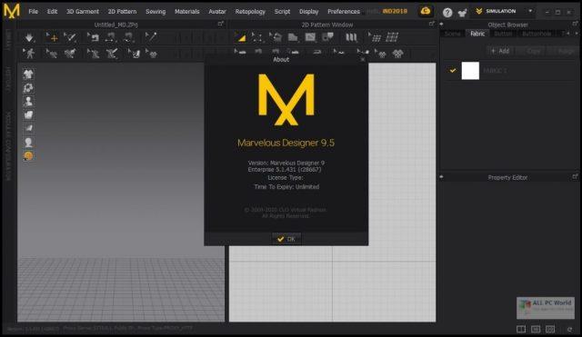Descargar Marvelous Designer 9.5 Enterprise