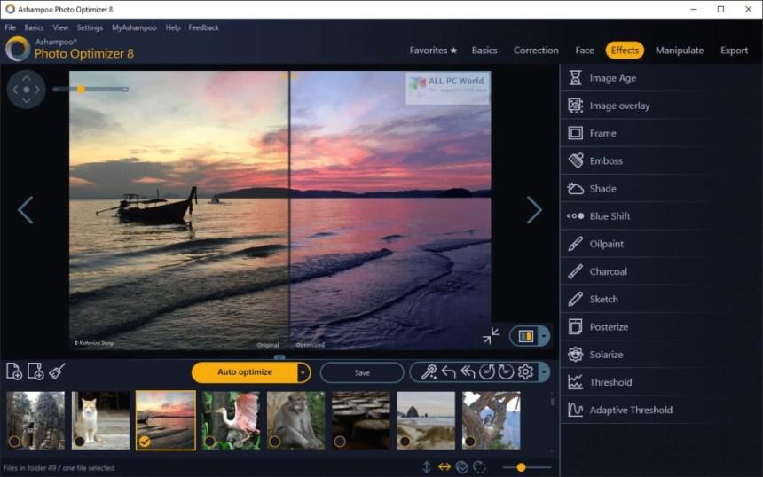 Descarga gratuita de Ashampoo Photo Optimizer 8.0