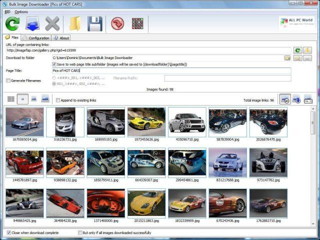 Descargar Bulk Image Downloader 5.75