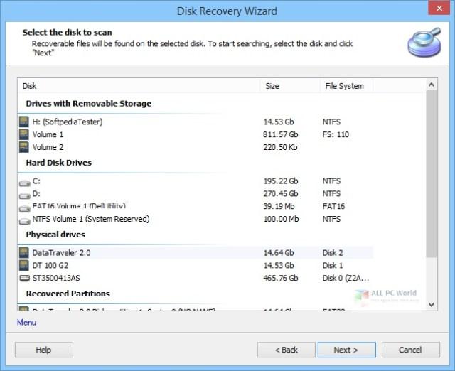 DiskInternals Partition Recovery 2020 v8.0 Descarga gratuita
