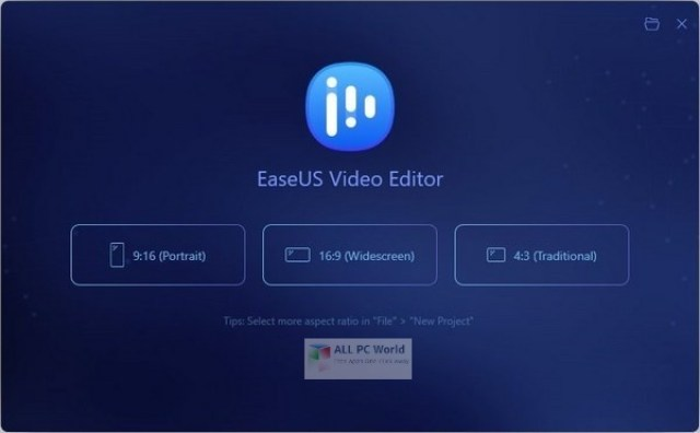 EaseUS Video Editor 1.6