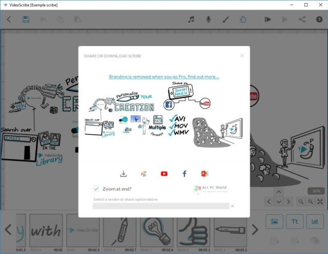 Sparkol VideoScribe Pro 3.6 Versión completa