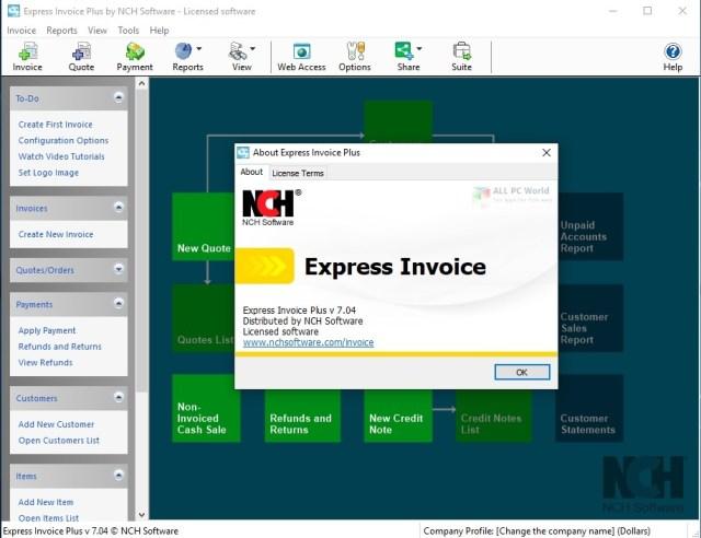 Software de facturación Express Invoice 8.10 Enlace de descarga directa
