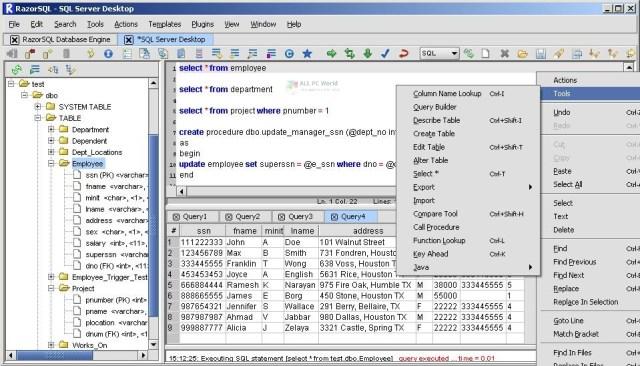 Enlace de descarga directa de RazorSQL 9.2.7