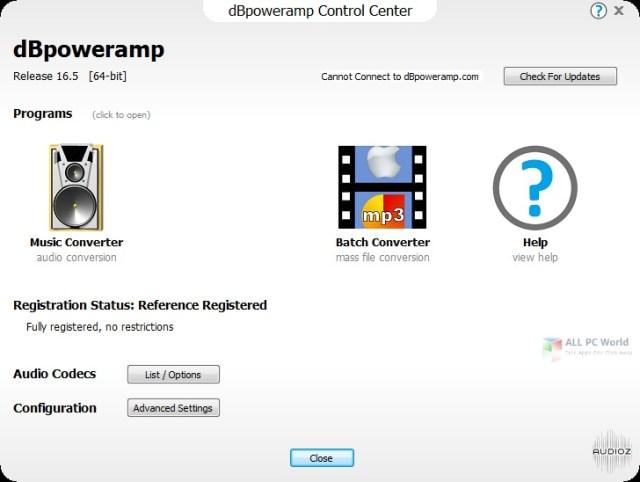 Enlace de descarga directa dBpoweramp Music Converter R17.3
