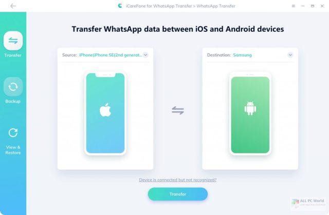 Tenorshare iCareFone para WhatsApp Transfer 3.0