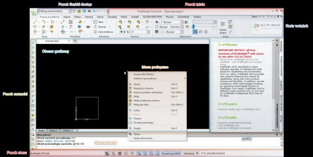 Descarga gratuita de DS DraftSight Enterprise Plus 2020 SP4