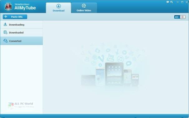 Wondershare AllMyTube 7.4.9 Descarga directa