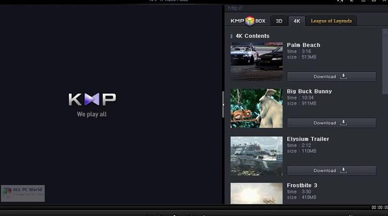 Descarga de la versión completa de KMPlayer 2020