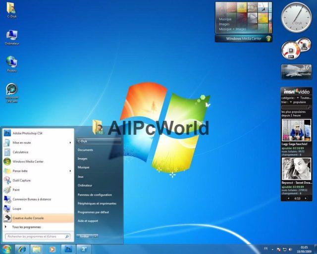 Descarga gratuita de Microsoft Windows 7 Home Premium ISO x86 y x64