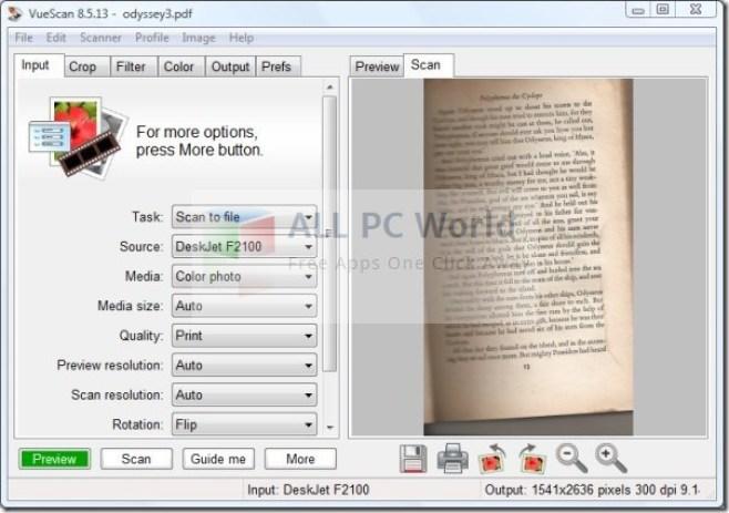 Revisión y características de VueScan Image to Text Converter