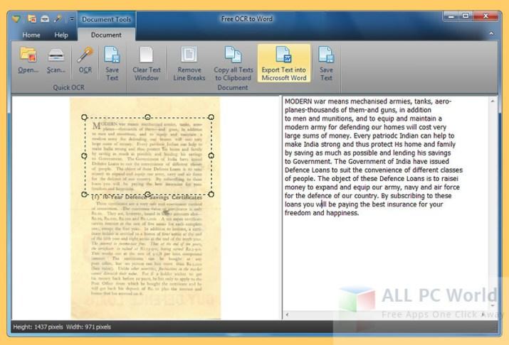 Revisión y características del software de conversión de OCR a Word