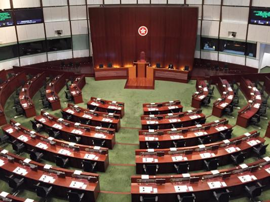SMU Law Study Mission, Hong Kong: Grand Seating Arrangement at the LegCo