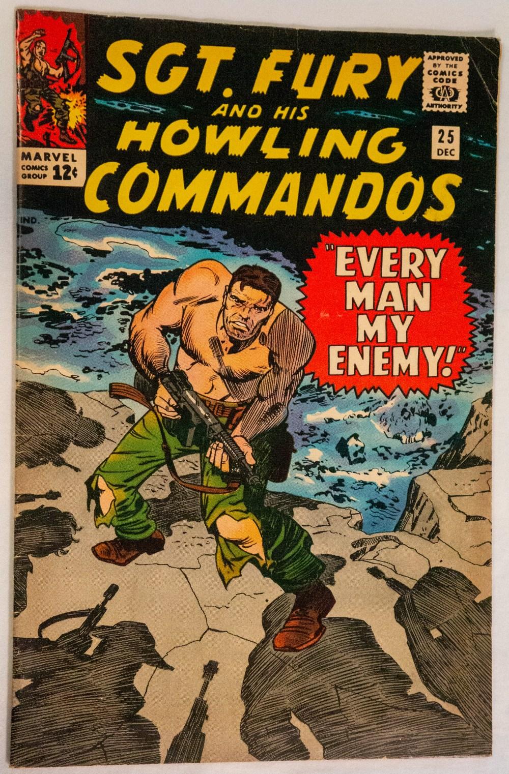 Sgt. Fury #25