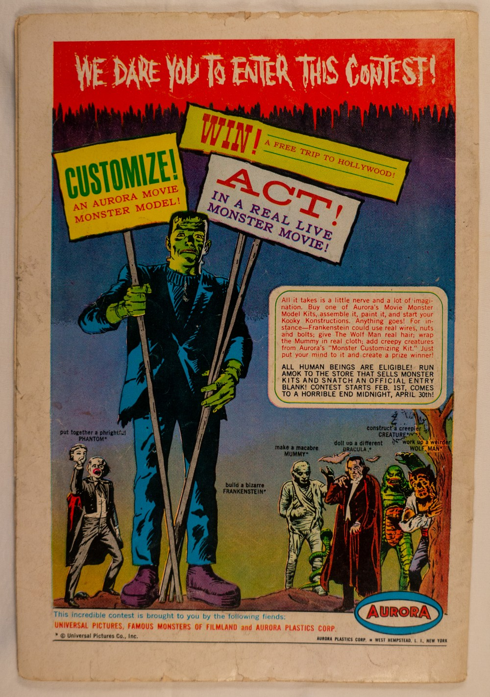 Adventure Comics #318 Back
