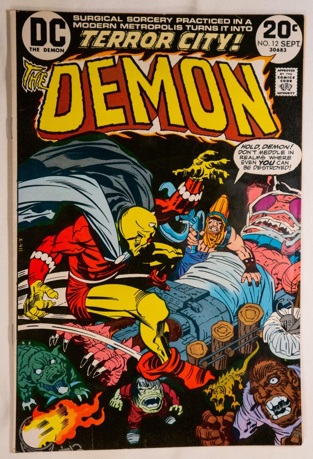 The Demon #12