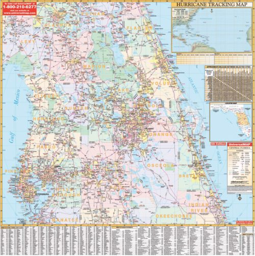 Coloring Map Florida