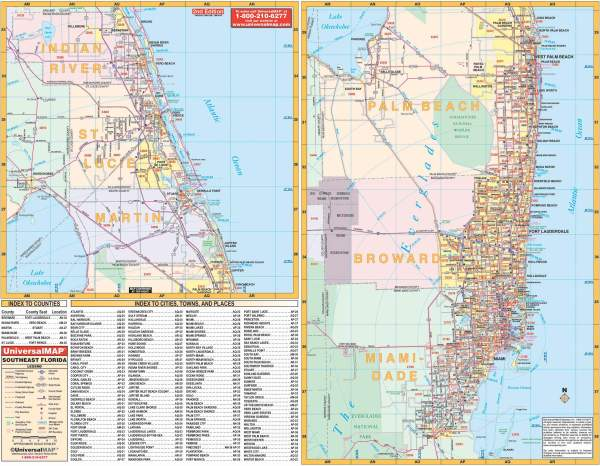 Detailed Southern Florida Map Wiring Library