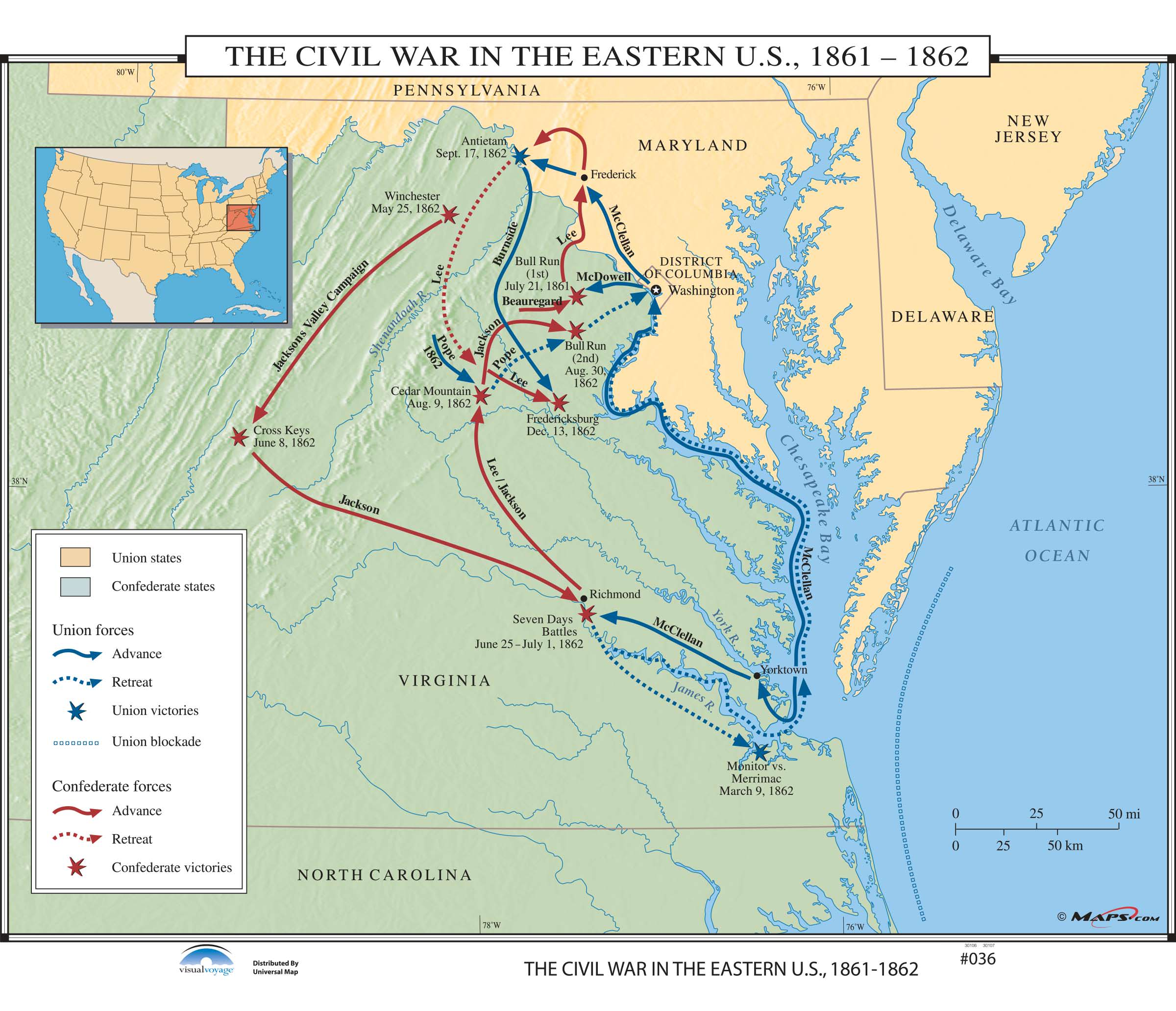 036 The Civil War In The Eastern Us Kappa