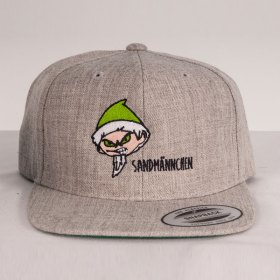 Mütze online gestalten - Kappen Designer Sandmännchen Snapback
