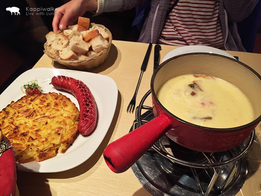 [旅遊.瑞士] 真・蜜月之旅-日內瓦Les Armures餐廳享用芝士火鍋 – KAPPIWALKER
