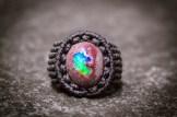 bague opale mexique macrame boulder opal ring kaprisc (1)