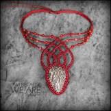 collier jaspe macrame jasper neckace kaprisc jewelry 2014 (1)