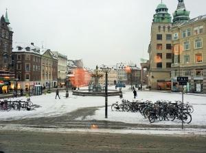 Gammeltorv in winter time.