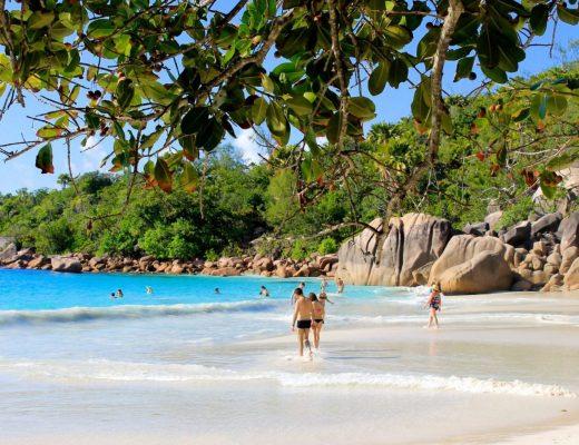The Best Beach in the Seychelles: Anse Lazio; Praslin - Kaptain Kenny Travel