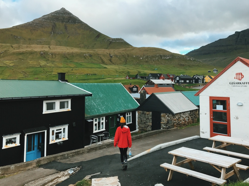 The Faroe Islands: Gjogv on the island of Eysturoy