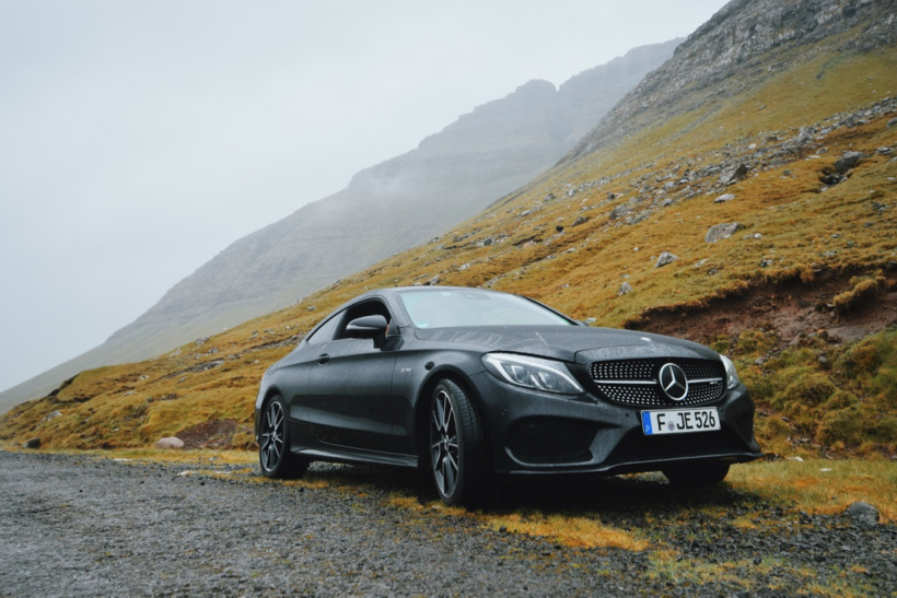 Driving through the most remote part of Europe in the Mercedes C43 AMG