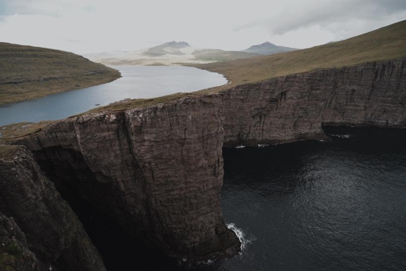 Faroe Islands: island of Vagar
