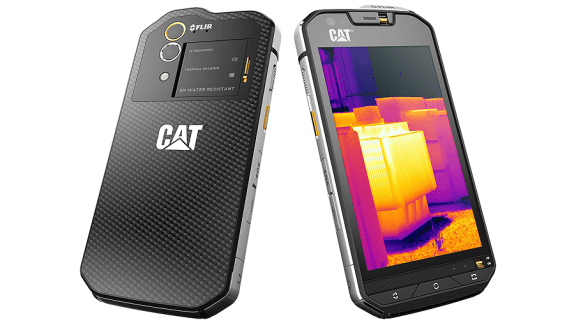 CAT S60, the world's first smartphone with integrated thermal imaging