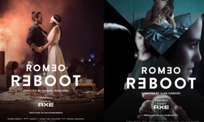 """The many faces of the the AXE """"Romeo Reboot"""" campaign"""