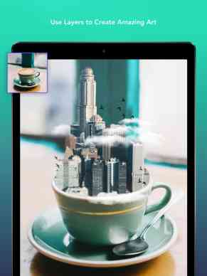 Screenshot of the photoFox app