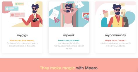 Meero, The gig photography unicorn.