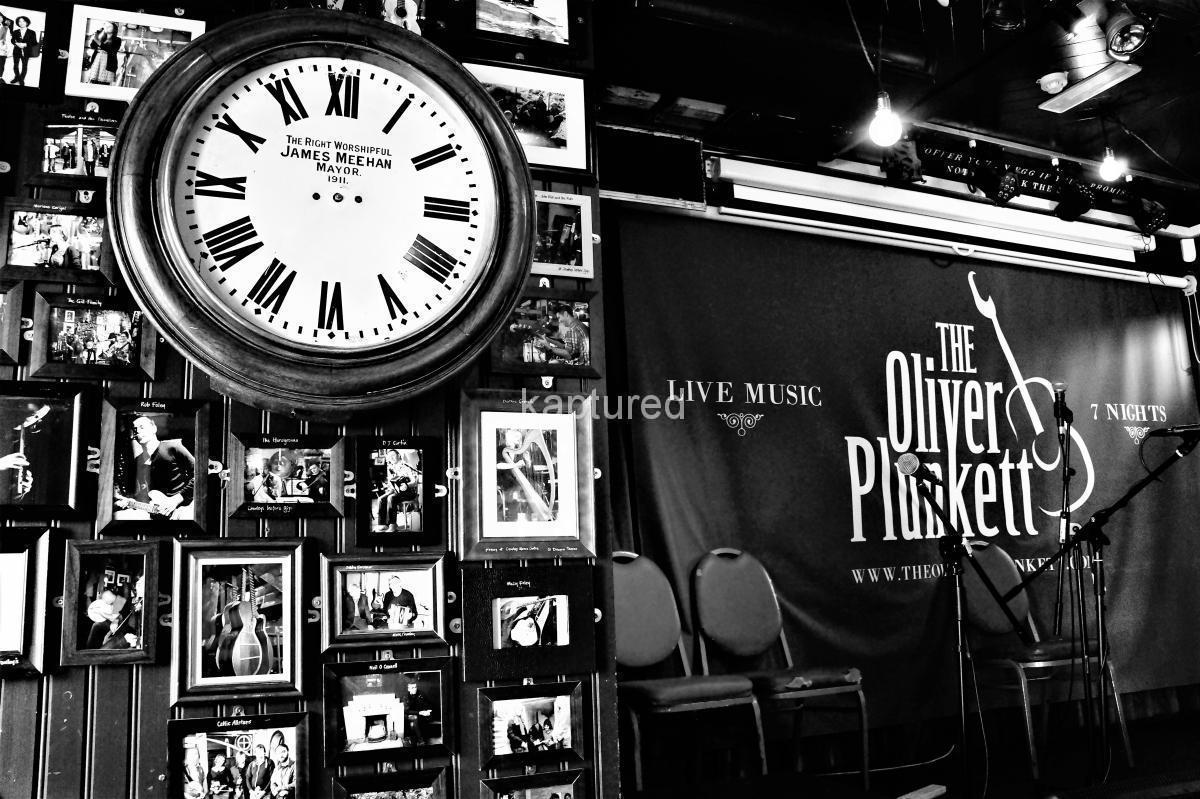 stage old images clock