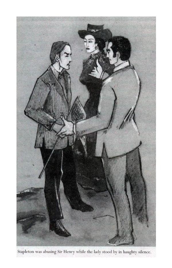 Stapleton was abusing Sir Henry