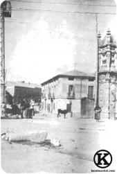 Antiguas tenerías, en el Camino Viejo de San Isidro, junto al Puente de Toledo (1900)