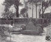 Banco de la Quinta de Miranda en el que Eugenia de Montijo conservaba con el emperador