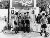 Partido Carabanchel-Mirandés en el campo de la Mina (1974)