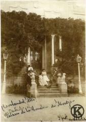 Pórtico del Palacio de Eugenia de Montijo (1908)