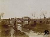 Puente de la línea de tranvía Madrid-Leganés sobre el arroyo Butarque