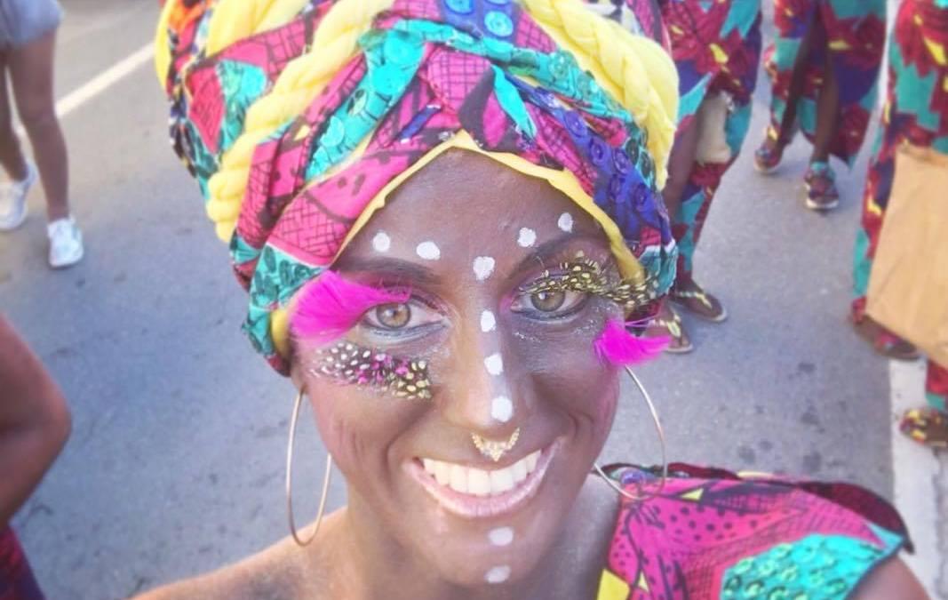 Carnavales con telas africanas wax
