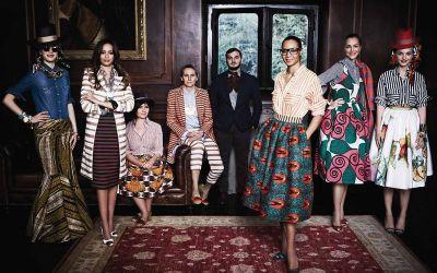 Nuestras telas africanas Wax en la Alta Costura