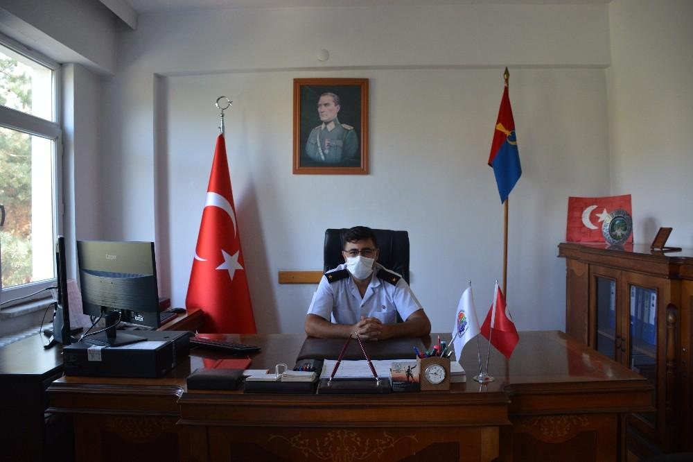 Yenice İlçe Jandarma Komutanlığına Teğmen Yücel atandı