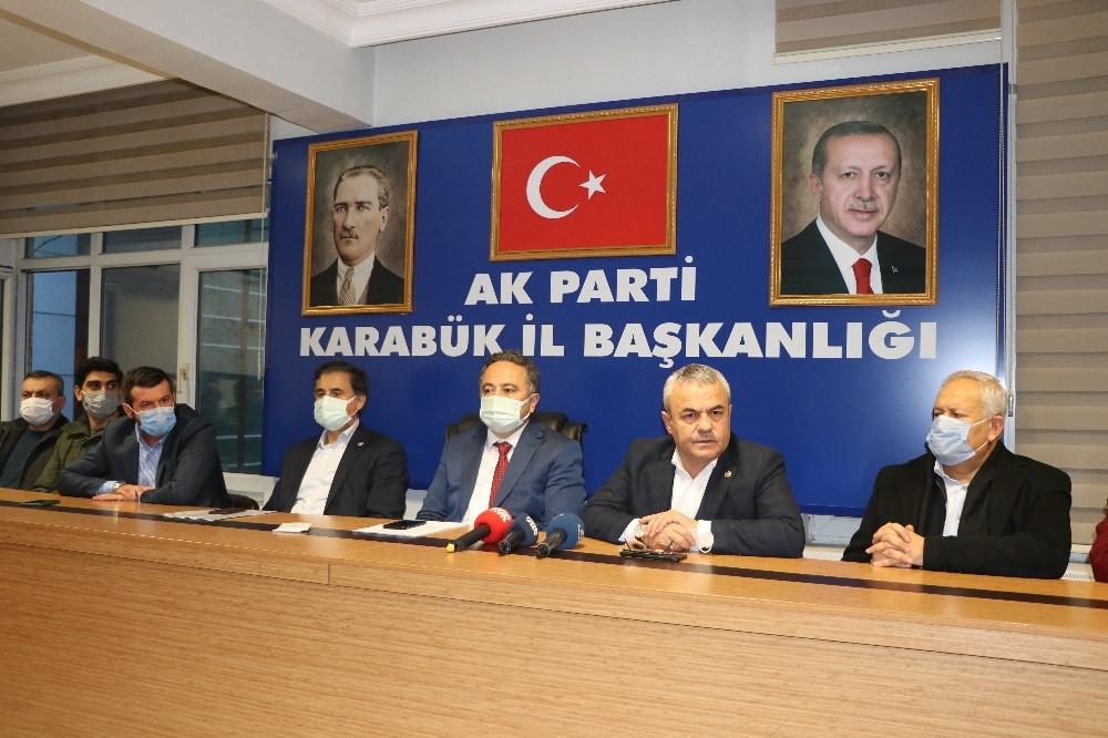 """AK Parti Karabük İl Başkanı Altınöz: """"7. Olağan Kongre'de il başkanı olarak şahsıma görev verilmiştir"""""""