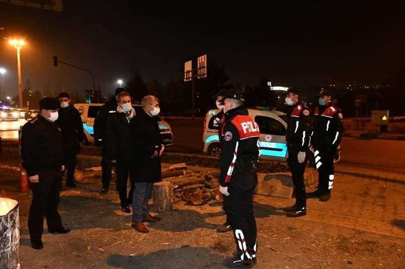 Vali Gürel'den güvenlik güçlerine yeni yıl ziyareti