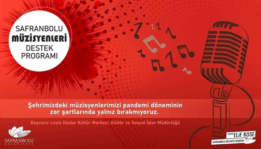 Safranbolu'da yerel sanatçılara destek konserleri düzenlenecek